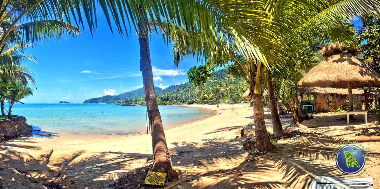 Bai Lan Beach auf Koh Chang in Thailand