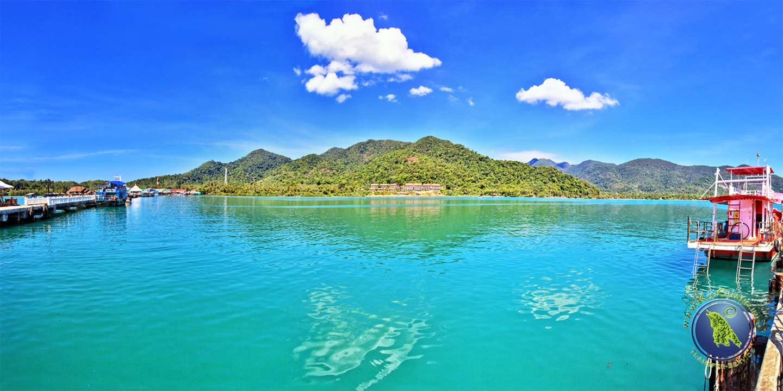 Bang Bao Bucht auf Koh Chang
