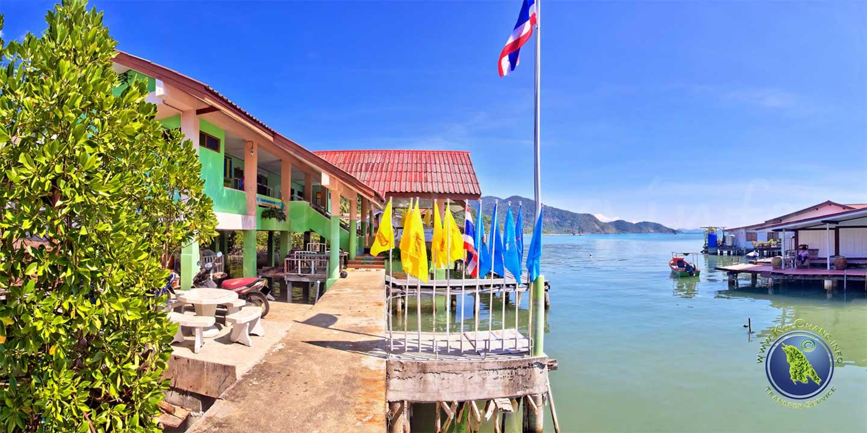 Klinik der Bang Bao Bucht auf Koh Chang