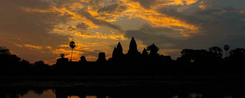 Angkor mit Angkor Wat in Kambodscha