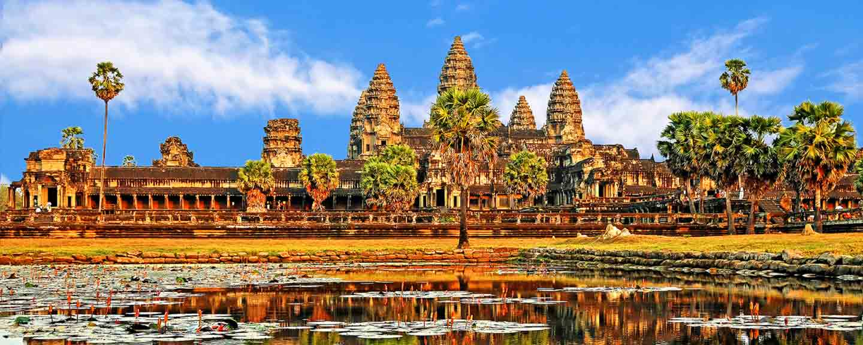 See vor Angkor in Kambodscha