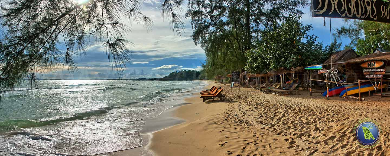 Ortres Beach in Sihanoukville, Kambodscha