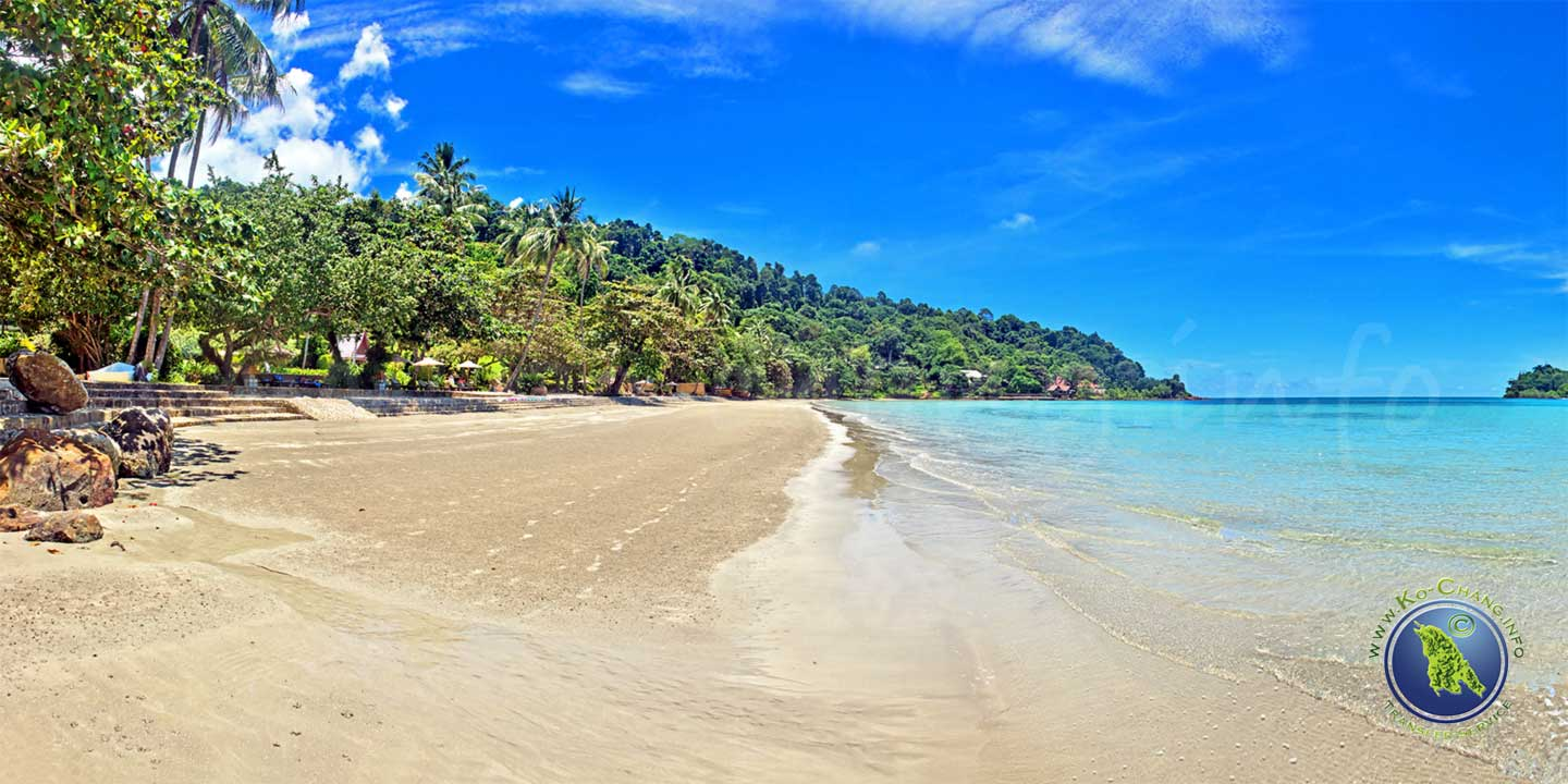 Kai Bae Beach auf Koh Chang in Thailand