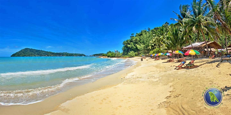 Klong Kloi Beach auf Koh Chang