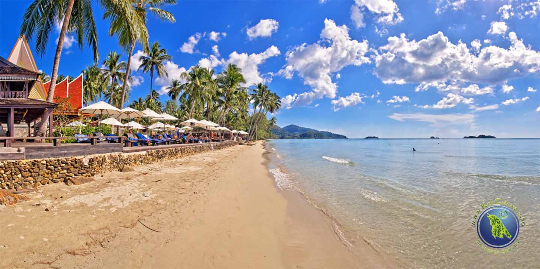 Santhiya Tree Resort am Klong Prao Beach auf Koh Chang