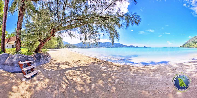 Chang Noi Beach in der Klong Son Bucht auf Koh Chang