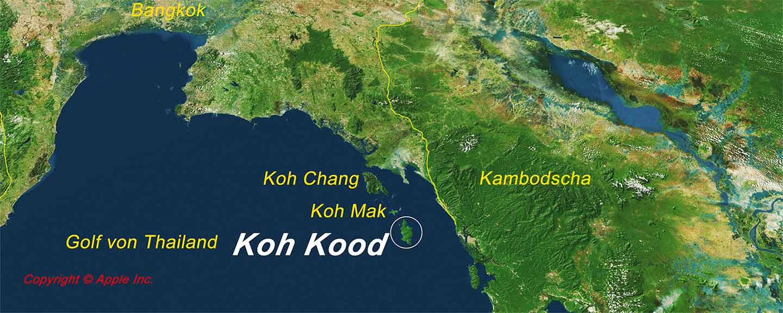 Koh Kood im Golf von Thailand