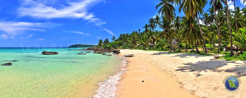 Ao Nid Beach auf Koh Kood in Thailand
