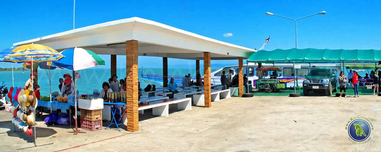 Laem Sok Pier in Trat für die Überfahrt nach Koh Kood