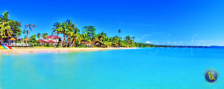 Ao Khao Beach an der Südküste Koh Maks in Thailand