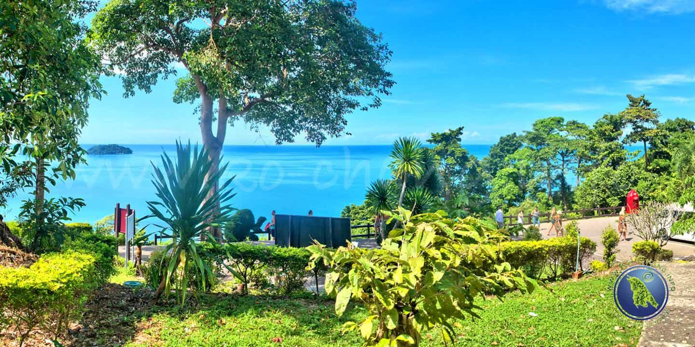 Aussichtspunkt beim Kai Bae Beach auf Koh Chang