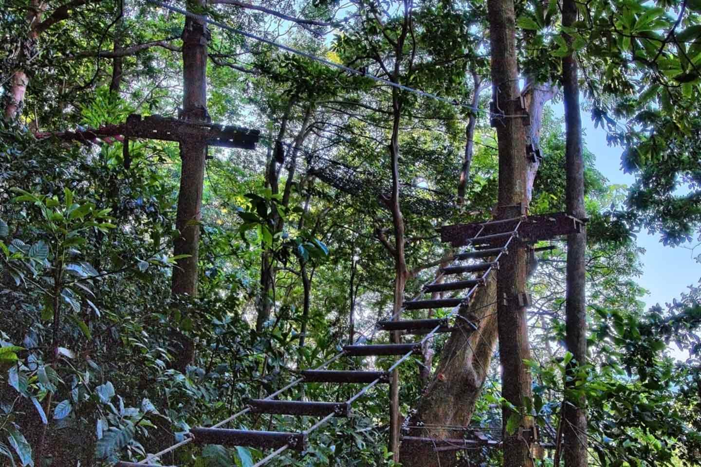 Treetop Adventure Park in Bailan auf Koh Chang