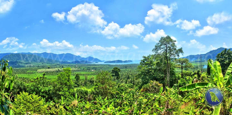 Aussichtspunkt in der Salak Phet Bucht auf Koh Chang in Thailand