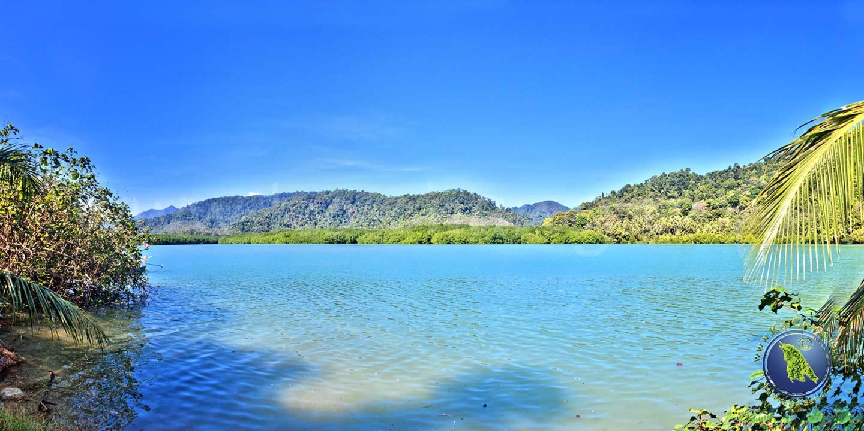 Aussichtspunkt in der Salak Khok Bucht auf Koh Chang in Thailand