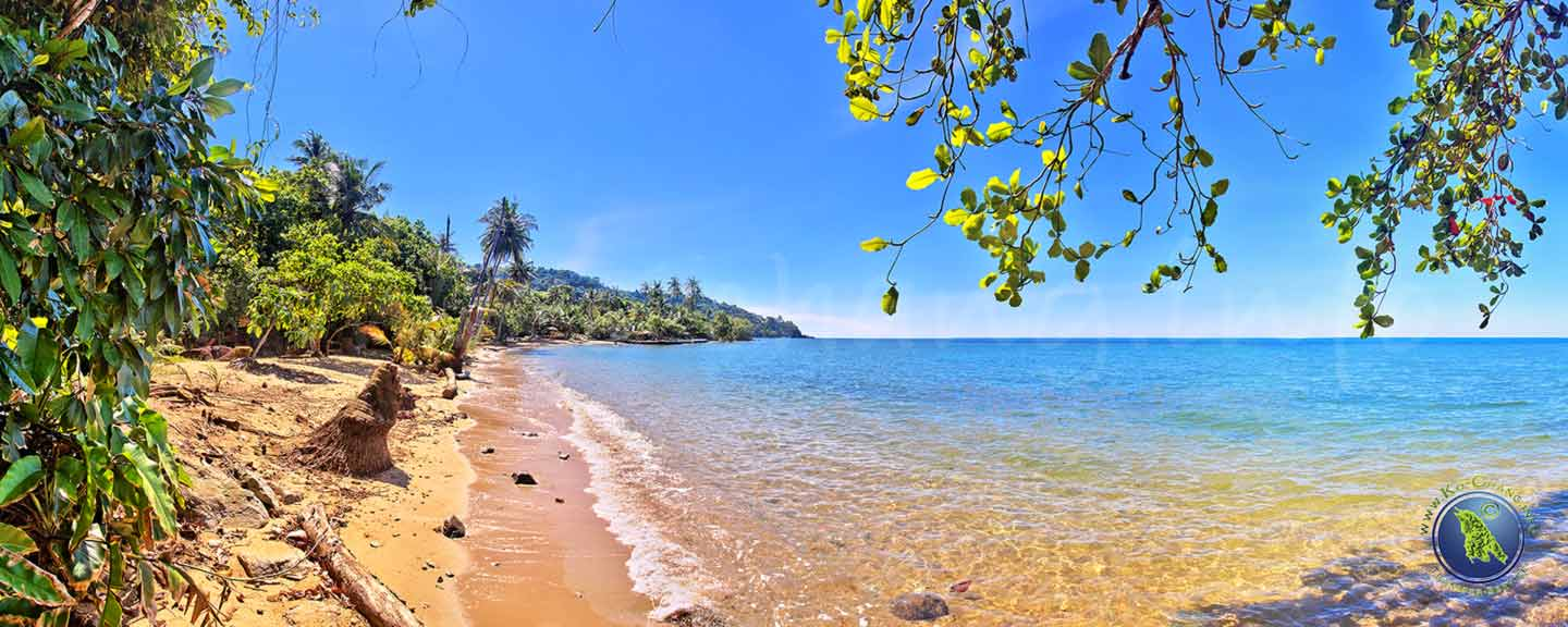 Bai Lan Beach auf Koh Chang in Thailand