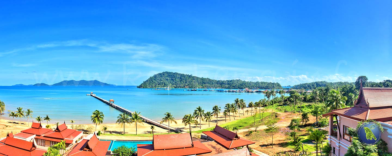 Bang Bao Bucht auf Koh Chang in Thailand