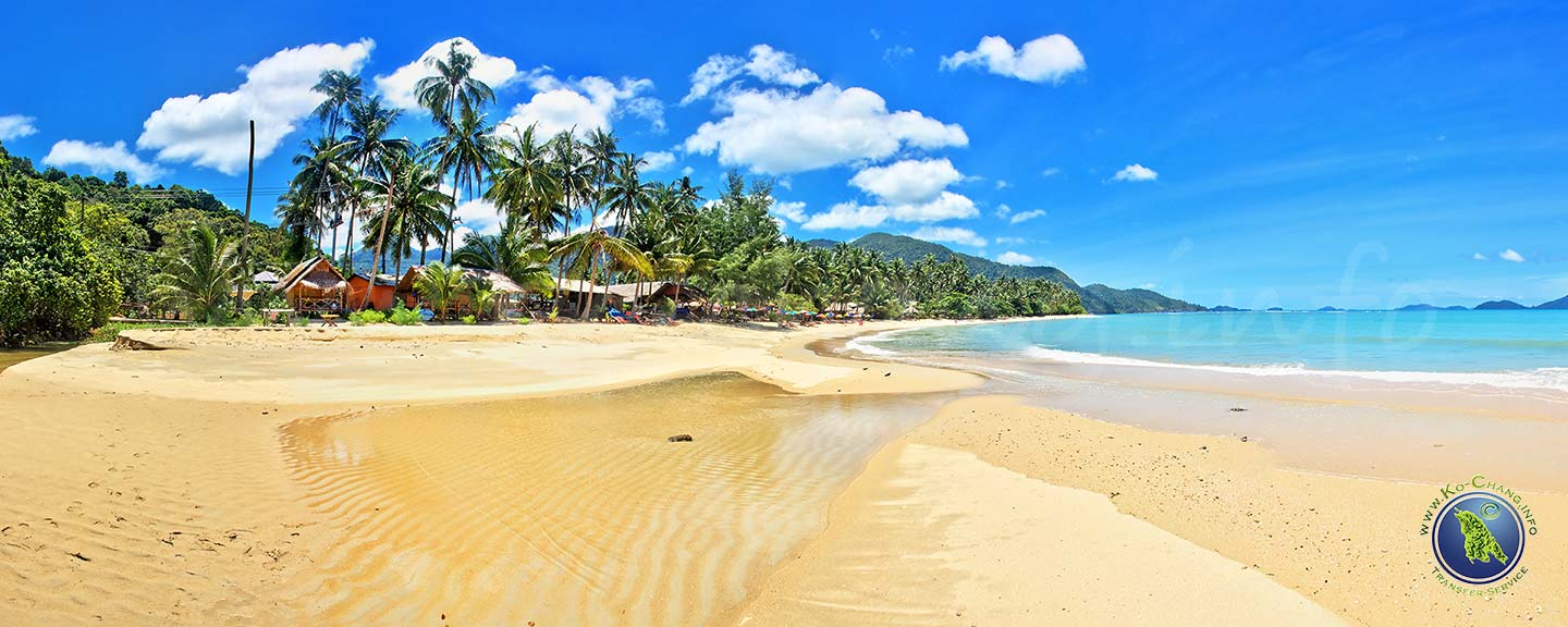Klong Kloi Beach auf Koh Chang in Thailand