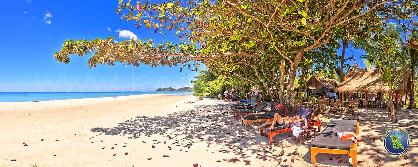 Klong Prao Beach auf Koh Chang in Thailand