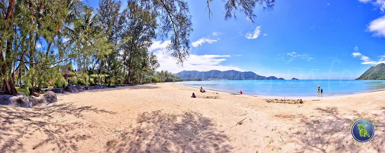 Klong Son Bucht auf Koh Chang in Thailand