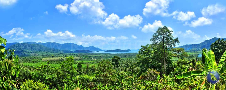 Salak Phet Bucht auf Koh Chang in Thailand