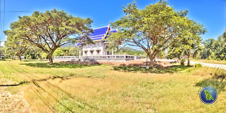 Buddhistischer Tempel in Salak Khok auf Koh Chang in Thailand