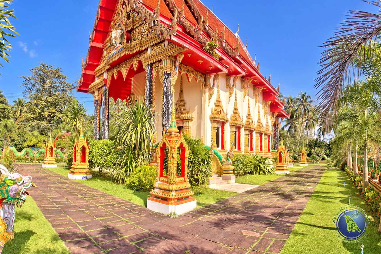 Buddhistischer Tempel in Salak Phet auf Koh Chang in Thailand
