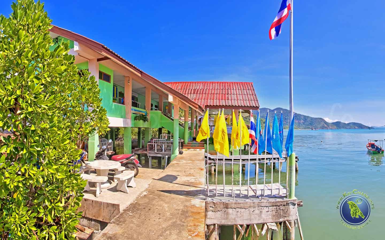 Klinik auf Koh Chang in Thailand