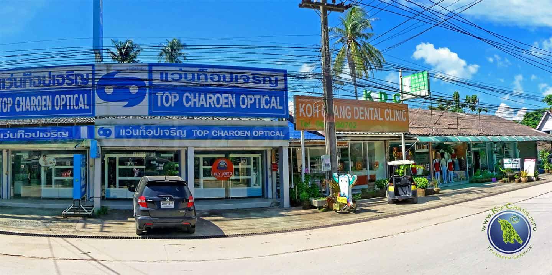 Dentiste sur Koh Chang en Thaïlande