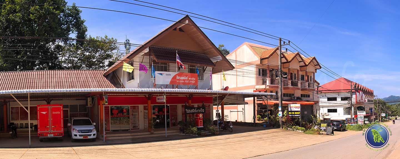 Poste principal sur Koh Chang en Thaïlande