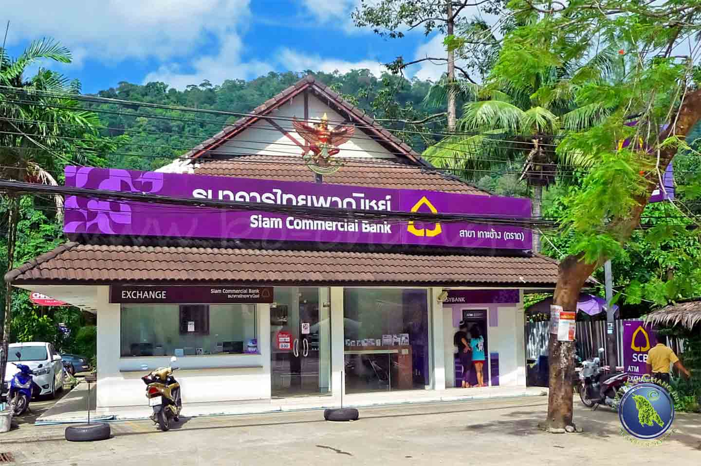 Bankfiliale auf Koh Chang in Thailand