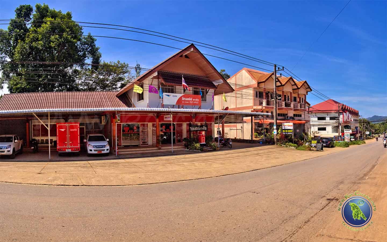 Bureau de poste principal sur Koh Chang en Thaïlande