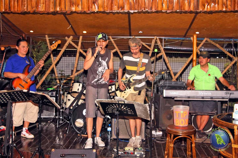 Nachtleben auf Koh Chang: Live-Musik