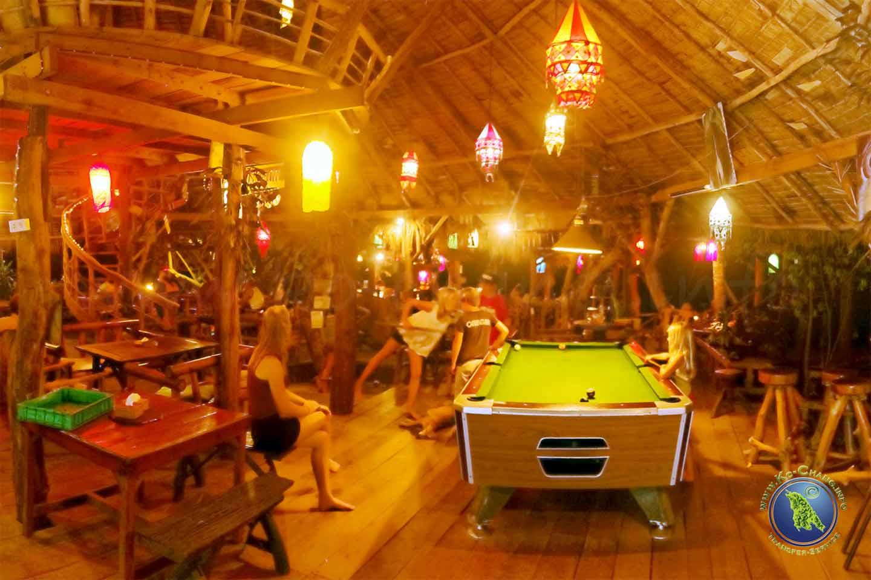 Nachtleben auf Koh Chang: Pool-Billard