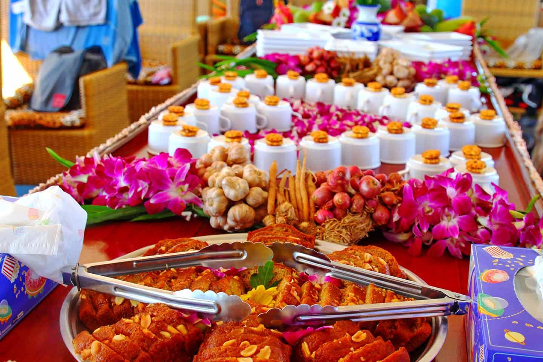 Thaifun-Schnorchelausflug bei Koh Chang: Kaffee und Kuchen