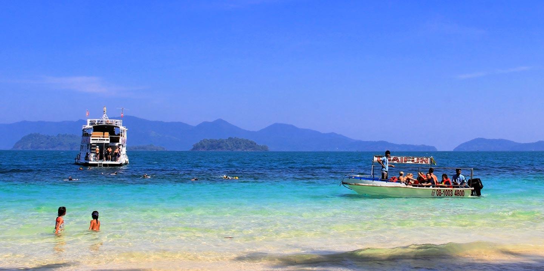 Thaifun-Schnorchelausflug bei Koh Chang