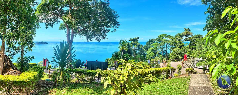 Point de vue à la plage de Kai Bae sur Koh Chang en Thaïlande