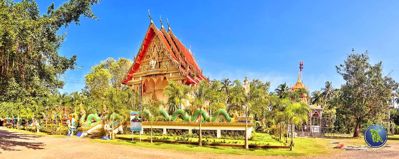 Temples bouddhistes sur Koh Chang en Thaïlande