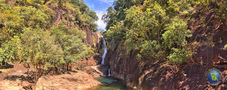 Wasserfall auf Koh Chang