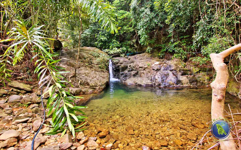 Wasserfälle auf Koh Chang in Thailand: Klong Jao Leuam Wasserfall