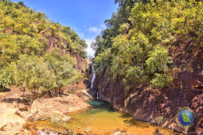 Cascade de Klong Plu à Klong Prao sur Koh Chang