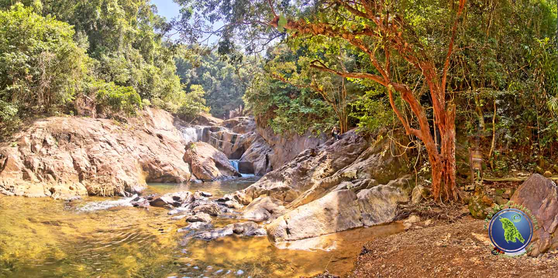Wasserfälle auf Koh Chang in Thailand: Than Mayom Wasserfall