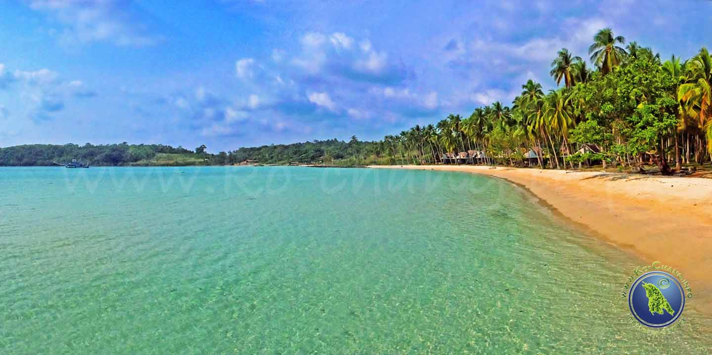 Bang Bao Bucht auf Koh Kood in Thailand