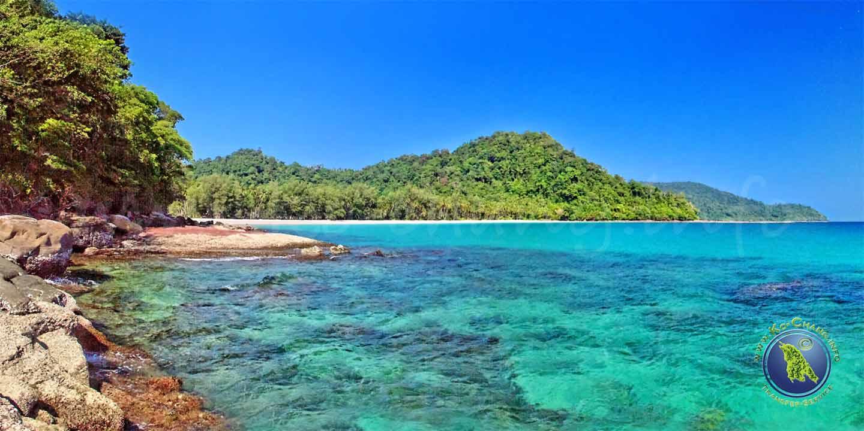 Ao Jak Beach auf Koh Kood in Thailand