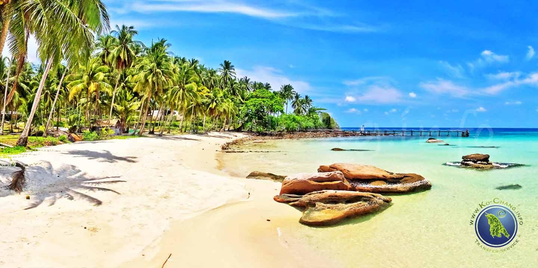 Ao Noi Beach auf Koh Kood in Thailand