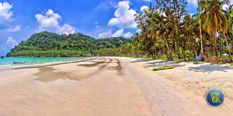 Ao Prao Beach auf Koh Kood in Thailand