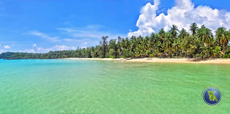 Taphao Beach sur Koh Kood en Thaïlande