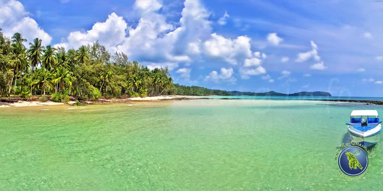 Taphao Beach auf Koh Kood in Thailand