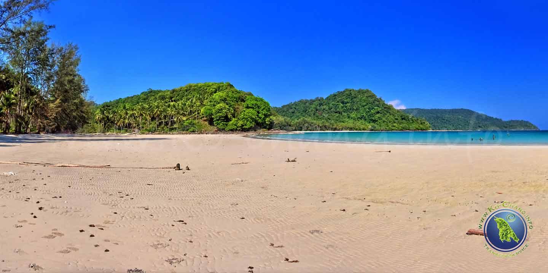 Klong Hin Beach auf Koh Kood in Thailand