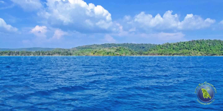 Klong Yai Kee Bucht auf Koh Kood in Thailand