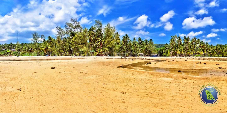 Ngam Koh Beach auf Koh Kood in Thailand